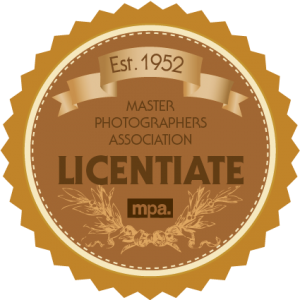 Master Photographer association award for photography