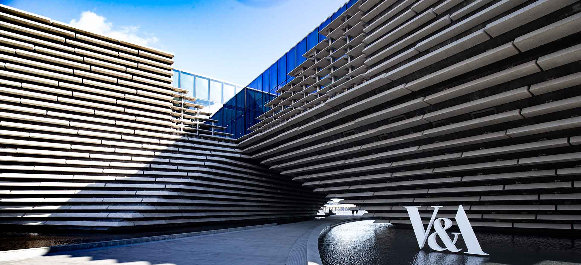 V&A Museum Dundee entrance by James Thompson