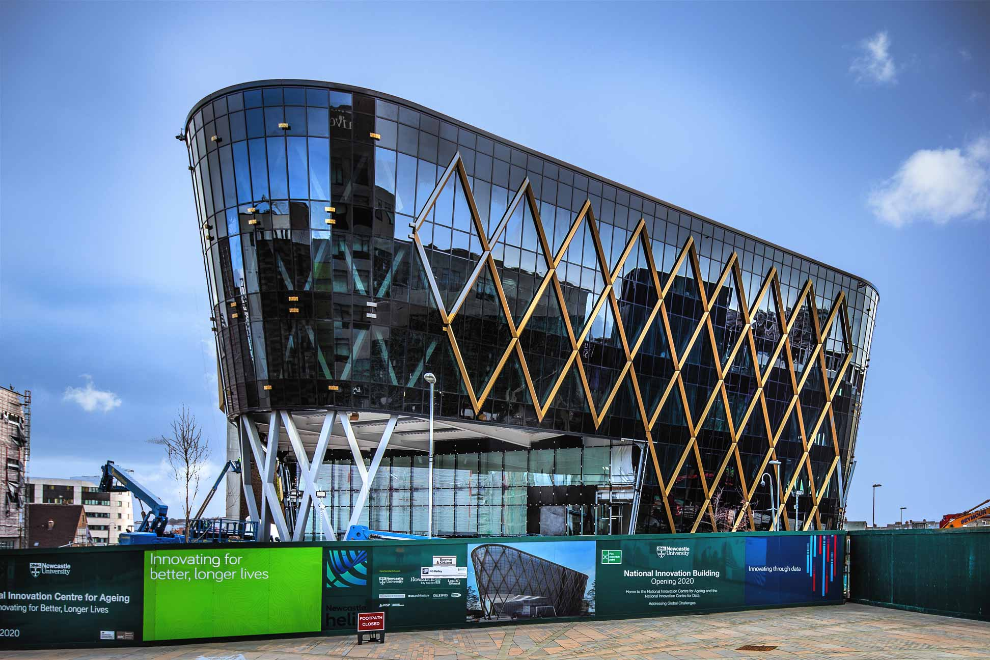 photograph of National-Innovation-Centre-for-Ageing and Data-Newcastle-Feb-2019