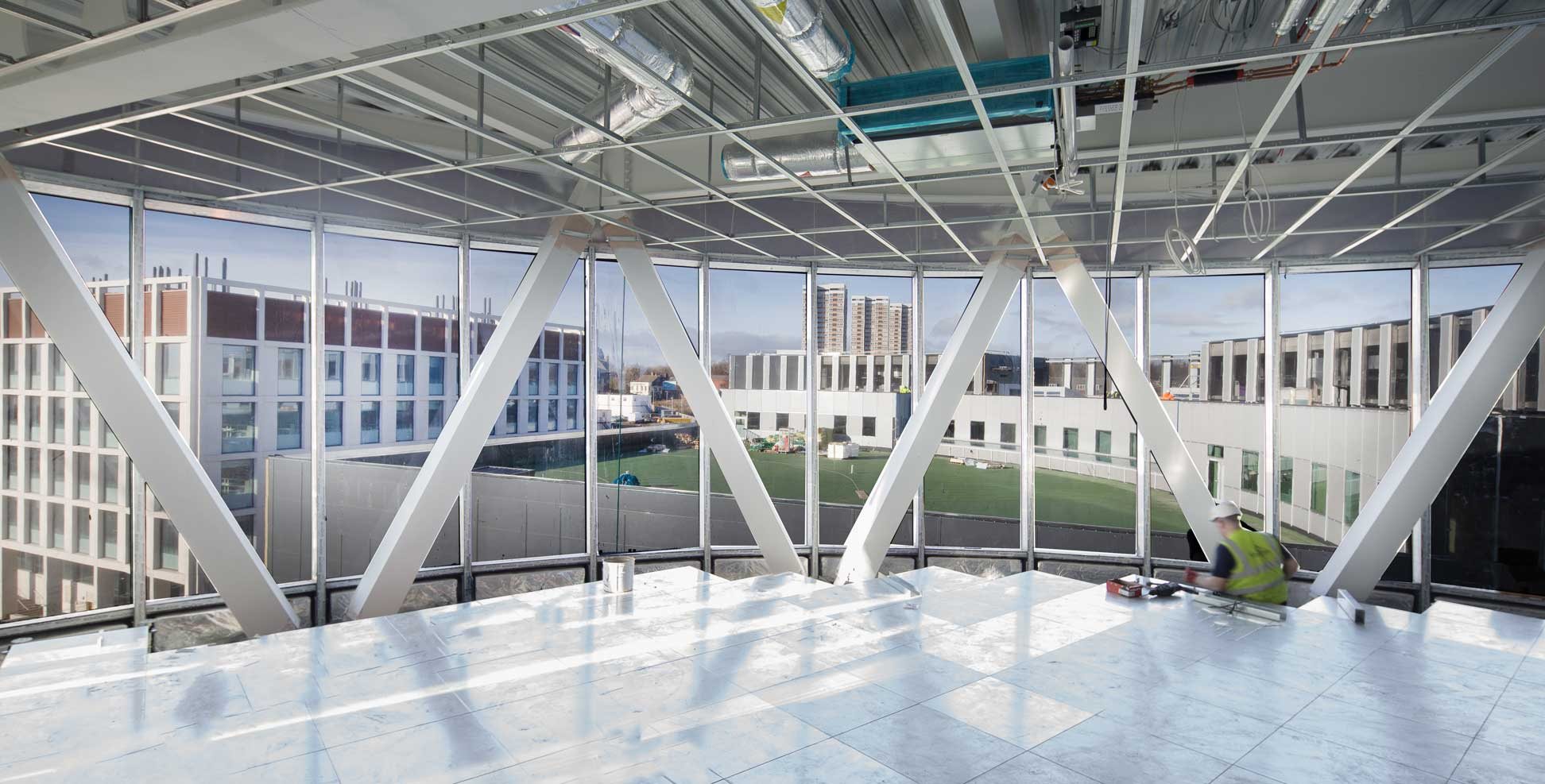 photograph of interior of National-Innovation-Centre-for-Ageing and Data-Newcastle-Feb-2019