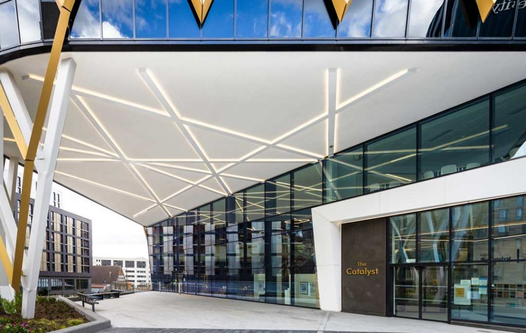 The-Catalyst-Newcastle-upon-Tyne-Entrance-and-Canopy