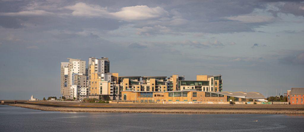 Edinburgh Waterfront Development of Granton-Harbour-Apartments-Edinburgh--by-uk-construction-photography
